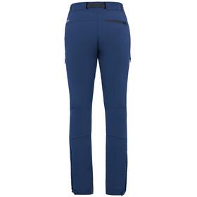 VAUDE Badile II lange broek Dames blauw